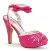 BETTIE-01 Hot Pink Faux Leather